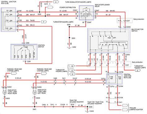 ford wiring diagram turn signal switch