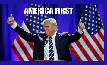 Image result for trump america first