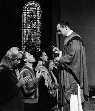 Image result for images catholic priests new england 50s