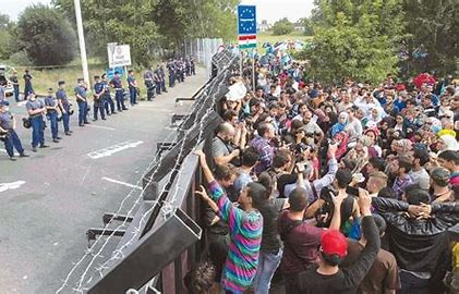 Image result for chaos at the borders