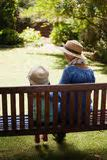 Image result for free picture of grandmother and child on park bench