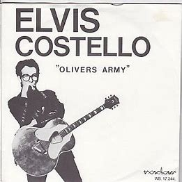 Image result for elvis costello oliver's army album images