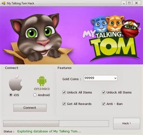 Talking Tom Camp Hack Tool Online