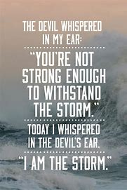 Image result for I am the storm
