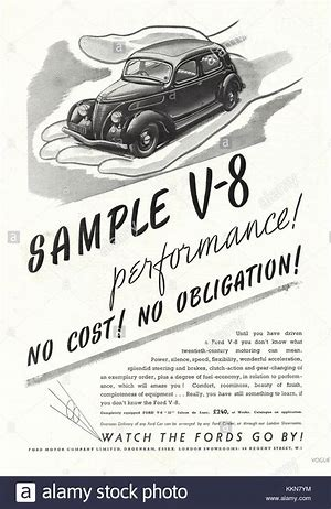 Image result for 1938 ford ads in public domain