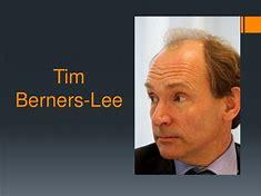 Résultat d'images pour Tim Berners-Lee