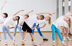 Image result for picture of children doing pe