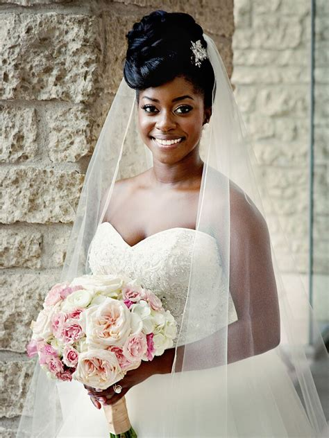 wedding hairstyles for long hair with veils