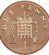 Image result for 1p coin
