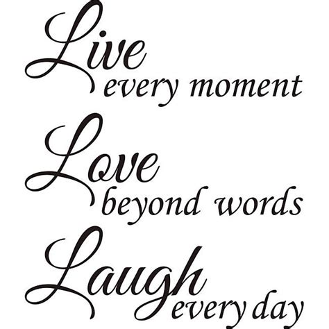 design on style live love laugh vinyl wall art quote