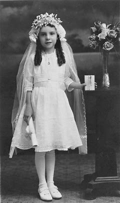 Image result for images little girls making first communion