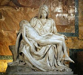 Image result for bernini sculpture mary and dead christ