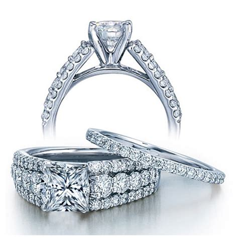 designer wedding ring set for women on jeenjewels