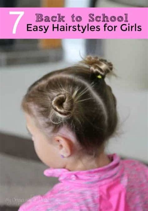 BACK TO SCHOOL EASY HAIRSTYLES FOR GIRLS