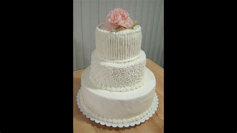 do it yourself wedding cake for under youtube