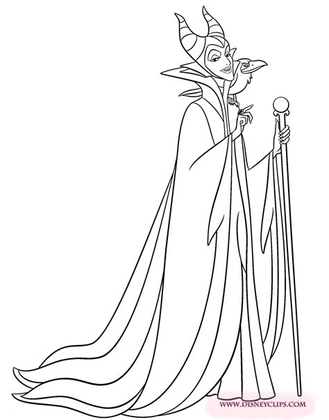 sleeping beauty coloring pages disneyclips com
