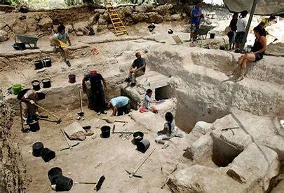 Image result for Women at Archaeological Dig