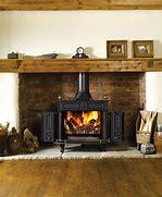 Résultat d'images pour illustrations, images cheminée avec chambranle en bois