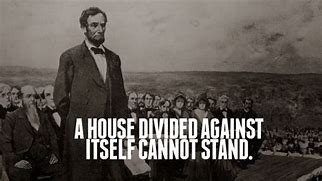 Image result for free pic of a house divided will fall