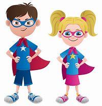 Image result for superhero kids clip art
