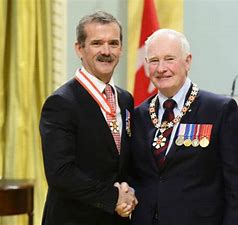 Image result for chris hadfield order of canada
