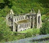 Image result for tintern abbey images from the top of the hill