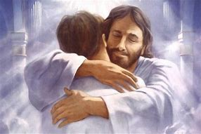 Image result for free pictures of jesus holding somone sick