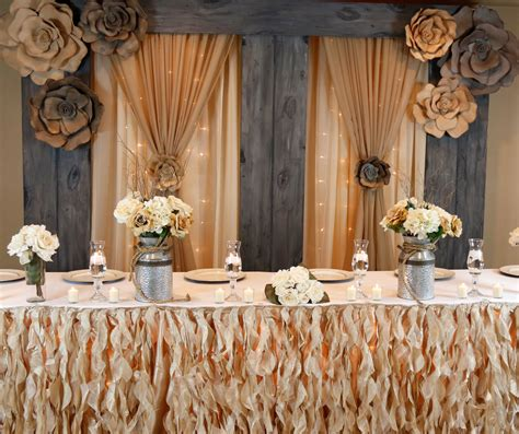 country chic collection wedding decor wedding bliss