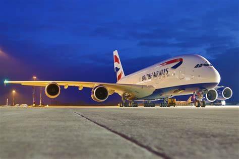 British Airways plane landed