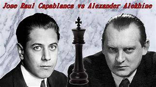 Image result for Capablanca vs Alekhinne