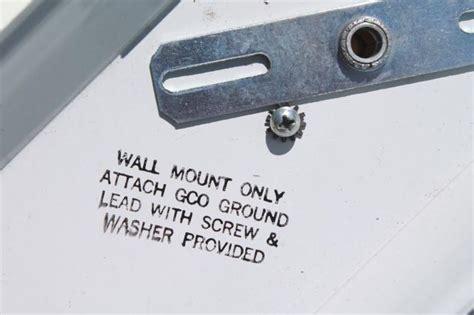 mid century mod vintage wall mount bathroom vanity over