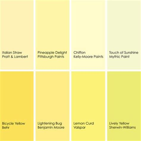 yellow paint picks for bathrooms clockwise from top left