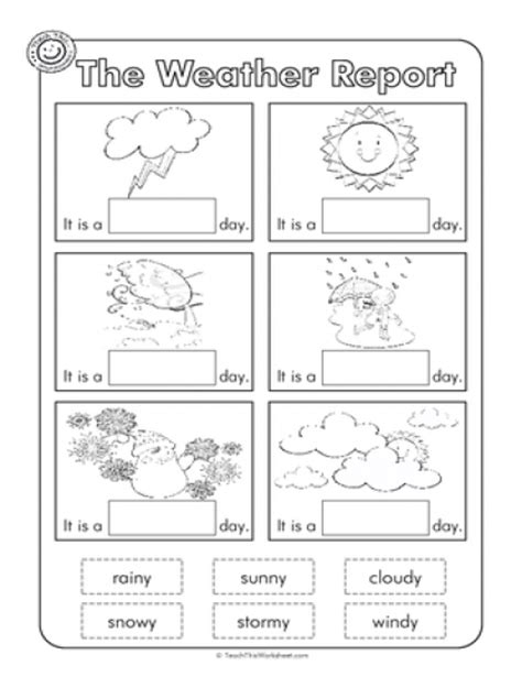 Weather Worksheet New Free Printable Weather Worksheets For Kindergarten