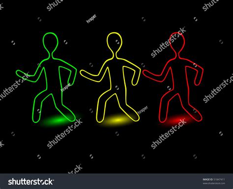 vector color outline people shutterstock