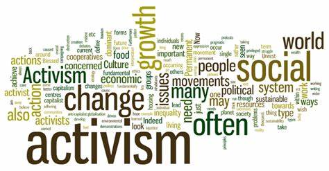 word terms for activism