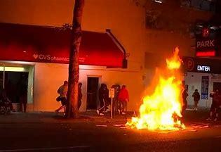 Image result for rioting inportland oregon