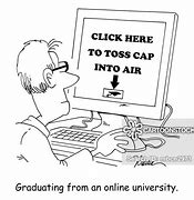 Image result for online learing cartoon