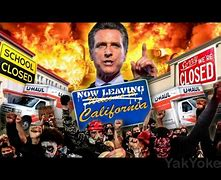 Image result for weird images of California chaos