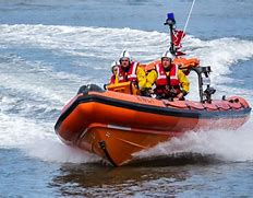 Image result for free pictures of life  boat with engin in water