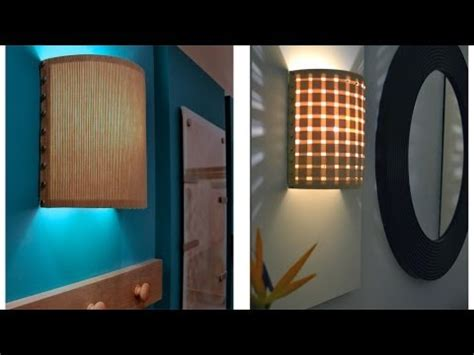 how to make a wall lamp sconce youtube