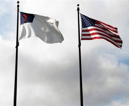 Image result for american and christian flags combination