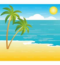 Image result for clipart beach pictures
