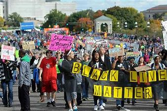 Image result for images BLM marches