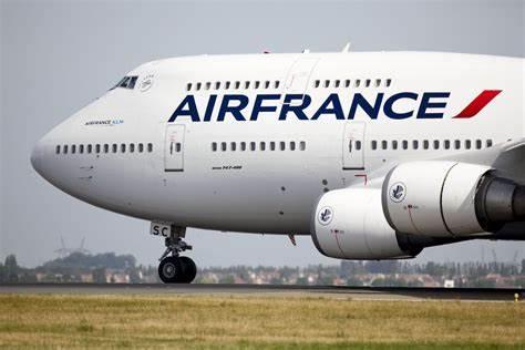 Air France aircraft grounded