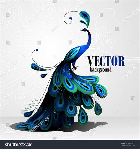 peacock vector background shutterstock