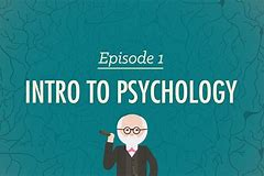 Image result for crash course in psychology