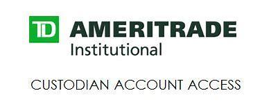 Image result for td ameritrade institutional asset custodian partner