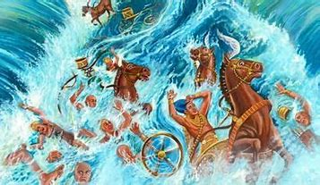 Image result for free picture of red sea deliverance