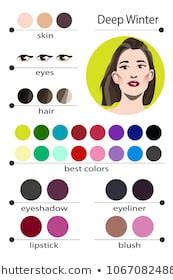 hair color chart images stock photos vectors shutterstock