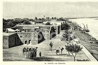 Image result for images 19th century khartoum